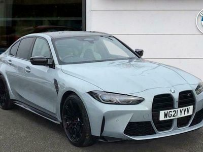 used BMW M3 M3Competition 4dr Step Auto Saloon 2021