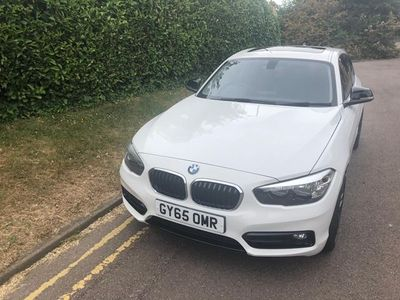 used BMW 118 1 Series 1.5 i Sport (s/s) 3dr