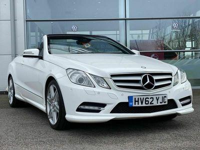 used Mercedes E200 E Class CabrioletBlueEFFICIENCY Sport 2dr Tip Auto 1.8