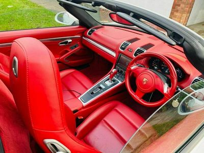 used Porsche Boxster 2.7 981 PDK (s/s) 2dr