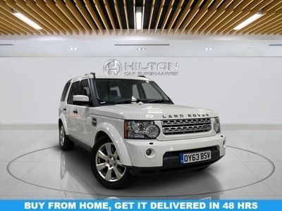 used Land Rover Discovery DIESEL AUTOMATIC ESTATE 5 DOORS
