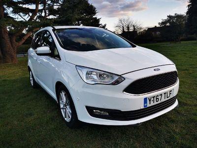 used Ford Grand C-Max ZETEC Manual White 2017