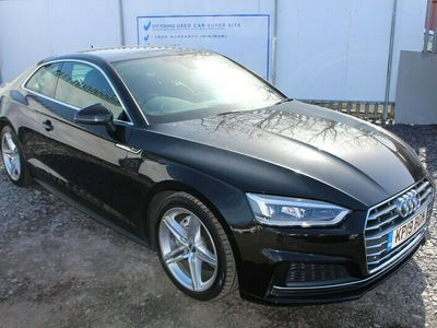 used Audi A5 TDI ULTRA S LINE Coupe 2019
