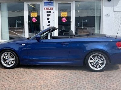 used BMW 120 1-Series Convertible d M Sport 2d Step Auto