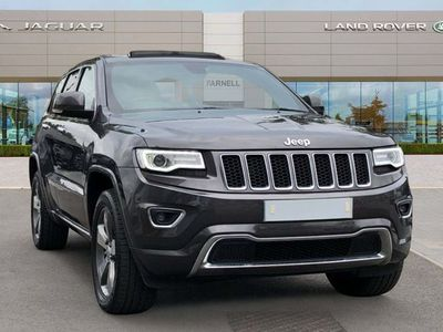 used Jeep Grand Cherokee 3.0 V6 CRD Overland Auto 4WD (s/s) 5dr
