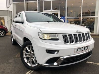 used Jeep Grand Cherokee 3.0 V6 CRD Summit Auto 4WD 5dr