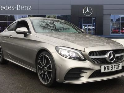 used Mercedes C300 C CLASS 2019 BeaconsfieldAMG Line Premium 2dr 9G-Tronic Diesel Coupe