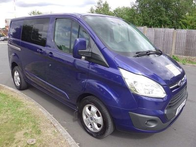 used Ford Custom Transit2.0 TDCi 310 Limited Double Cab-in-Van L2 H1 6dr (EU6)