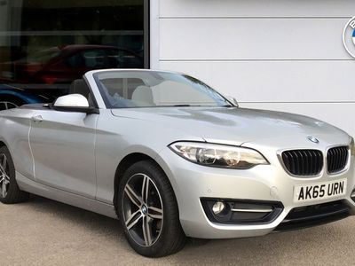 used BMW 218 d Sport Convertible