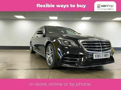 used Mercedes S450 S-Class 3.0L AMG Line (s/s)