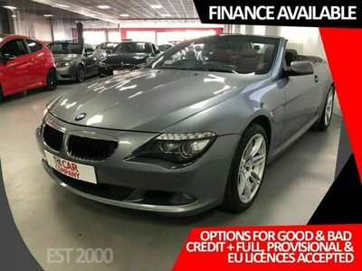 used BMW 635 Cabriolet 3.0 635D EDITION SPORT 2d 282 BHP