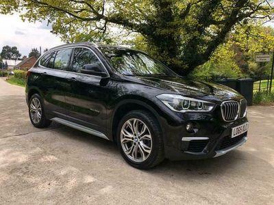 used BMW X1 2.0 XDRIVE20D XLINE 5d 188 BHP FSH+XDRIVE+LEATHER+AUTO+SAT NAV
