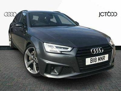 used Audi A4 40 TDI Black Edition 5dr S Tronic diesel avant