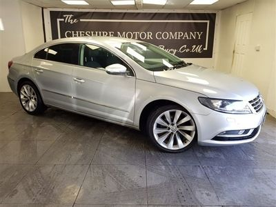 used VW CC 2.0 GT TDI BLUEMOTION TECHNOLOGY 4d + LEATHER + NAV + FULL HISTORY CLICK AND COLLECT OPTIONS AVAILABLE