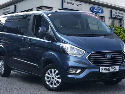 used Ford Custom Tourneo2.0 EcoBlue 105ps Low Roof 8 Seater Zetec 5dr