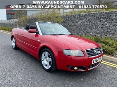 used Audi A4 Cabriolet 2.4 SE 2d 168 BHP