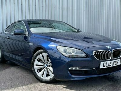 used BMW 640 6 Series d SE 2dr Auto Coupe 2015