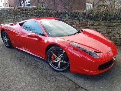 used Ferrari 458 4.5 ITALIA DCT 2d 570 BHP, 2011 ( )