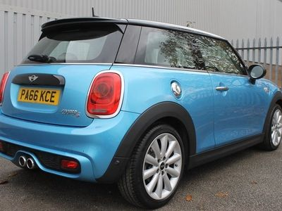 used Mini Cooper S Hatch 2.03dr [Chili Pack] ** PAN ROOF & CREAM LEATHER ** Hatchback 2016