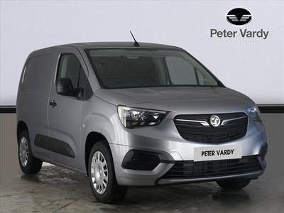 used Vauxhall Combo Cargo 2000 1.5 Turbo D 100Ps H1 Sportive Van
