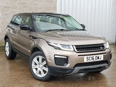 used Land Rover Range Rover evoque 2.0 Td4 Se Tech 5Dr