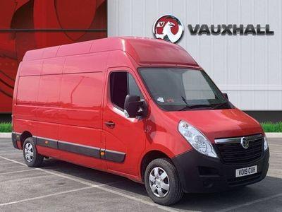 used Vauxhall Movano 2.3 CDTi BiTurbo H3 Van 145ps