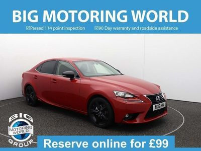 used Lexus IS300h SPORT for sale | Big Motoring World