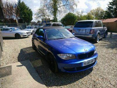 used BMW 125 Cabriolet 3.0 125i SE 2dr