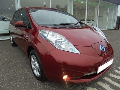 used Nissan Leaf Acenta Flex 5dr Electric Red