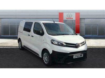 used Toyota Proace Medium Diesel 2.0D 120 Icon Crew Van Premium