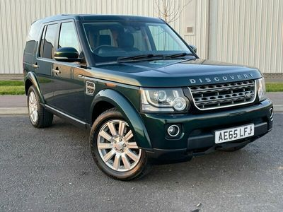 used Land Rover Discovery 4 3.0 SDV6 SE 4X4