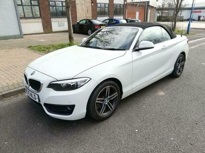 used BMW 220 2-Series Convertible i Sport 2d