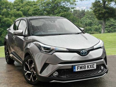 used Toyota C-HR Hybrid 1.8 Dynamic Crossover 5-Dr leather towbar portection and sport p 5dr