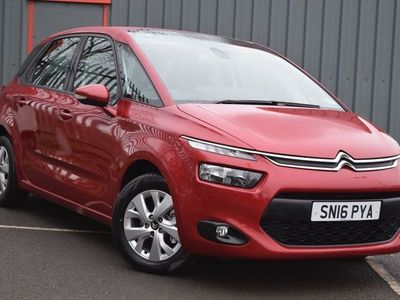 used Citroën C4 Picasso 1.6 Vtr + Bluehdi 5dr
