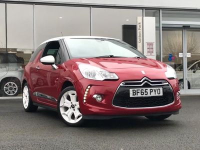 used Citroën DS3 PURETECH DSTYLE ICE S/S 3 door hatchback hatchback special edition