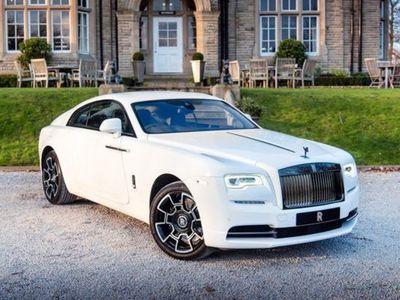 used Rolls Royce Wraith V12 BLACK BADGE coupe