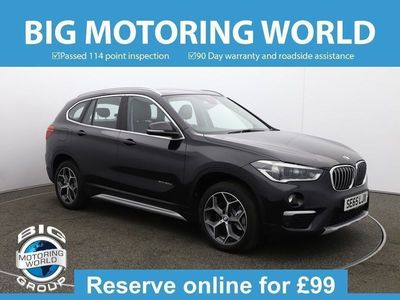 used BMW X1 XDRIVE20D XLINE 2.0 5dr