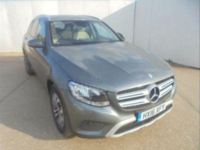 used Mercedes 220 GLC GLC4Matic SE Executive 5dr 9G-Tronic Grey Automatic Diesel