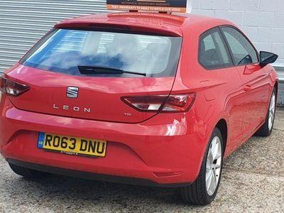 used Seat Leon SC 2.0 TDI SE (Technology Pack) 3d
