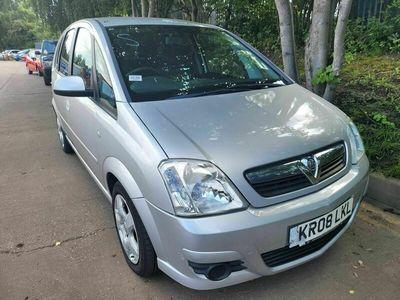 used Vauxhall Meriva 1.6 i 16v Breeze 5dr