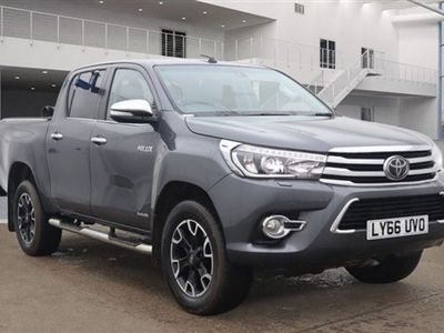 used Toyota HiLux 2.4 INVINCIBLE X 4WD D-4D DCB 148 BHP