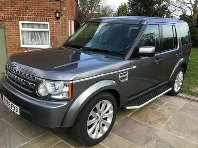 used Land Rover Discovery 4 2.7 TD V6 GS 5dr