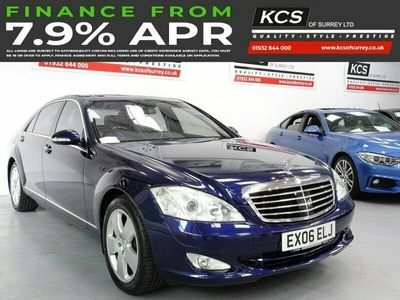 used Mercedes S500L S-CLASS 5.54d 383 BHP OVER 10K FACTORY OPTIONS