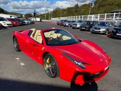 used Ferrari 458 4.5 SPIDER DCT 2d 570 BHP