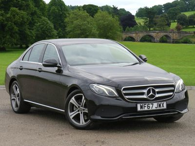 used Mercedes E220 E Class DieselSE 4dr 9G-Tronic Saloon 2017