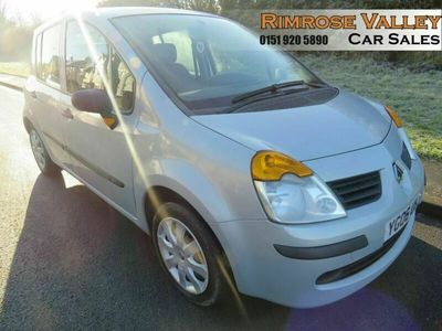 used Renault Modus 1.1 OASIS 16V 5d 75 BHP LAST OWNER FOR 10 YEARS