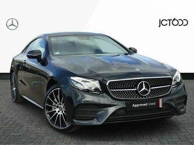 used Mercedes E400 E Class4Matic AMG Line Premium Plus 2dr 9G-Tronic Coupe 2021
