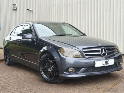 used Mercedes C350 C-Class 3.0CDI SPORT 4DR 222 BHP GREAT CONDITION SATNAV - BLUETOOTH - SENSORS