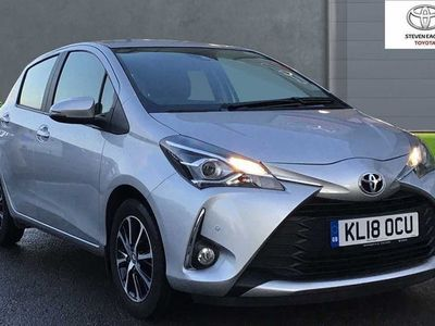 used Toyota Yaris 1.5 VVT-i Icon Tech 5dr