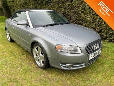 used Audi A4 Cabriolet 1.8T S Line 2d